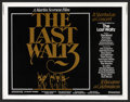 "Movie Posters:Rock and Roll, The Last Waltz (United Artists, 1978). Half Sheet (22"" X 28""). Rockand Roll.. ..."