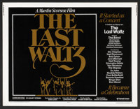 "The Last Waltz (United Artists, 1978). Half Sheet (22"" X 28""). Rock and Roll"