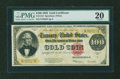 Large Size:Gold Certificates, Fr. 1215 $100 1922 Gold Certificate PMG Very Fine 20....