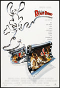 "Movie Posters:Animated, Who Framed Roger Rabbit (Buena Vista, 1988). One Sheet (27"" X 40"").Animated.. ..."