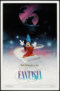 "Movie Posters:Animated, Fantasia (Buena Vista, R-1990). 50th Anniversary One Sheet (27"" X 41"") DS. Animated.. ..."