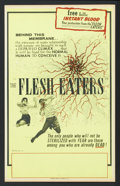 "Movie Posters:Horror, The Flesh Eaters (UN-AD, 1962). Benton Window Card (13.75"" X 22""). Horror.. ..."