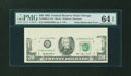 Error Notes:Obstruction Errors, Fr. 2080-G $20 1993 Federal Reserve Note. PMG Choice Uncirculated 64 EPQ.. ...
