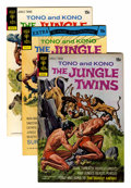 Bronze Age (1970-1979):Miscellaneous, The Jungle Twins #3-18 File Copy Group (Gold Key/Whitman, 1972-82)Condition: VF/NM.... (Total: 16 Items)