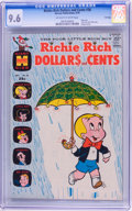 Bronze Age (1970-1979):Humor, Richie Rich Dollars and Cents #38 File Copy (Harvey, 1970) CGC NM+9.6 Off-white to white pages....