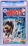 Bronze Age (1970-1979):Horror, Ghosts #37 (DC, 1975) CGC NM- 9.2 Off-white pages....