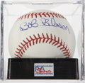 Autographs:Baseballs, Bob Gibson Single Signed Baseball PSA Mint 9. ...