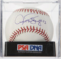 Autographs:Baseballs, Alex Rodriguez Single Signed Baseball PSA Mint+ 9.5....