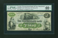 Canadian Currency: , Moncton, NB- The Westmorland Bank $2 Aug. 1, 1861 Ch. # 800-12-04R....
