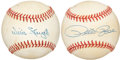 Autographs:Baseballs, Pete Rose and Willie Stargell Single Signed Baseballs. ... (Total:2 items)