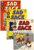 Silver Age (1956-1969):Humor, Sad Sack Comics Short Box File Copy Group (Harvey, 1962-82) Condition: NM-....