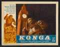 """Movie Posters:Science Fiction, Konga (American International, 1961). Lobby Card Set of 8 (11"""" X 14""""). Science Fiction.. ... (Total: 8 Items)"""