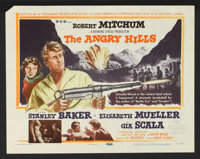 """The Angry Hills (MGM, 1959). Lobby Card Set of 8 (11"""" X 14""""). War. ... (Total: 8 Items)"""
