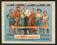 """The Big Country (United Artists, 1958). Lobby Card Set of 8 (11"""" X 14""""). Western. ... (Total: 8 Items)"""