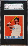 Baseball Cards:Singles (1940-1949), 1948 Leaf Ralph Kiner #91 SGC 86 NM+ 7.5....