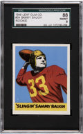Football Cards:Singles (Pre-1950), 1948 Leaf Sammy Baugh #34 SGC 88 NM/MT 8....