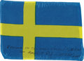 Explorers:Space Exploration, Apollo 14 Flown National Flag of Sweden Directly from the Personal Collection of Mission Lunar Module Pilot Edgar Mitchell, Ce...