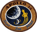 Explorers:Space Exploration, Apollo 14 Flown Embroidered Mission Insignia Patch Directly fromthe Personal Collection of Mission Lunar Module Pilot Edgar M...