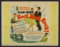 "Movie Posters:Rock and Roll, Rock, Rock, Rock (DCA, 1956). Lobby Card Set of 8 (11"" X 14""). Rockand Roll.. ... (Total: 8 Items)"