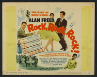 "Rock, Rock, Rock (DCA, 1956). Lobby Card Set of 8 (11"" X 14""). Rock and Roll. ... (Total: 8 Items)"