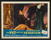 "The Pit and the Pendulum (American International, 1961). Lobby Card Set of 8 (11"" X 14""). Horror. ... (Total:..."