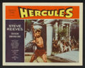 "Movie Posters:Adventure, Hercules (Warner Brothers, 1959). Lobby Card Set of 8 (11"" X 14"").Adventure.. ... (Total: 8 Items)"