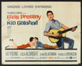 "Movie Posters:Elvis Presley, Kid Galahad (United Artists, 1962). Half Sheet (22"" X 28""). Elvis Presley.. ..."