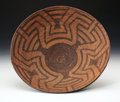 American Indian Art:Baskets, A PIMA COILED BOWL. c. 1885...