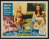 """Goliath and the Vampires (American International, 1964). Lobby Card Set of 8 (11"""" X 14""""). Horror. ... (Total:..."""