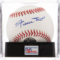 Autographs:Baseballs, Willie Mays Single Signed Baseball PSA Mint+ 9.5. ...