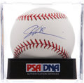 Autographs:Baseballs, Dontrelle Willis Single Signed Baseball PSA Mint 9. ...