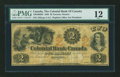 Canadian Currency: , Toronto, CW- The Colonial Bank of Canada $2 July 4, 1859 Ch. #130-10-02-04. ...