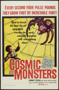 """Movie Posters:Science Fiction, Cosmic Monsters (DCA, 1958). One Sheet (27"""" X 41""""). Science Fiction.. ..."""