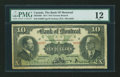Canadian Currency: , Montreal, PQ- The Bank of Montreal $10 Nov. 3, 1914 Ch. #505-54-06. ...