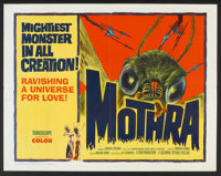 "Mothra (Columbia, 1962). Half Sheet (22"" X 28""). Science Fiction"