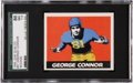 Football Cards:Singles (Pre-1950), 1948 Leaf George Connor #37 SGC 86 NM+ 7.5....
