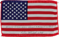 Explorers:Space Exploration, Apollo 14 Flown American Flag Directly from the Personal Collectionof Mission Lunar Module Pilot Edgar Mitchell, Certified an...