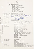Explorers:Space Exploration, Apollo 11 Training-Used Launch Operations Checklist Page Originallyfrom the Personal Collection of Mission Lunar Module Pilot...