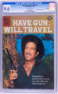 Silver Age (1956-1969):Western, Have Gun, Will Travel #9 File Copy (Dell, 1961) CGC NM+ 9.6Off-white pages....