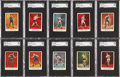 Boxing Cards:General, 1910 T225 Khedivial Boxers No. 102 Complete Set (25) - #2 on theSGC Set Registry! ...