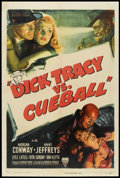 "Movie Posters:Crime, Dick Tracy vs. Cueball (RKO, 1946). One Sheet (27"" X 41""). Crime.. ..."