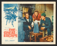 """The Great Escape Lot (United Artists, 1963). Lobby Cards (4) (11"""" X 14""""). War. ... (Total: 4 Items)"""