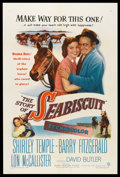 "Movie Posters:Drama, The Story of Seabiscuit (Warner Brothers, 1949). One Sheet (27"" X 41""). Drama.. ..."