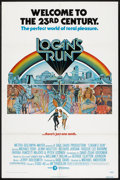 """Movie Posters:Science Fiction, Logan's Run (MGM, 1976). One Sheet (27"""" X 41""""). Science Fiction.. ..."""