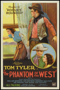 "Movie Posters:Serial, The Phantom of the West (Mascot, 1931). One Sheet (27"" X 41"") Chapter 10 -- ""Rogues' Roundup"". Serial.. ..."