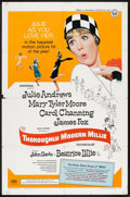 """Movie Posters:Musical, Thoroughly Modern Millie (Universal, 1967). One Sheet (27"""" X 41""""). Musical.. ..."""