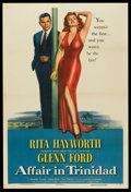 "Movie Posters:Film Noir, Affair in Trinidad (Columbia, 1952). One Sheet (27"" X 41"") Style B. Film Noir.. ..."
