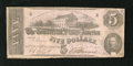 Confederate Notes:1863 Issues, T53 $5 1862.. ...