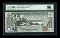 Large Size:Silver Certificates, Fr. 224 $1 1896 Silver Certificate PMG Gem Uncirculated 66 EPQ....