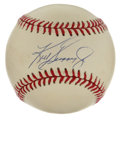 Autographs:Baseballs, Ken Griffey, Jr. Single Signed Baseball. Nice memento from one ofthe finest sluggers in the game today. Junior's perfect ...
